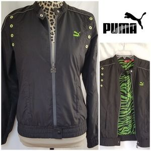 "Puma ""Wild Pack"" Cropped Jacket"